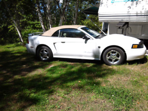 Mustang convertible 2004, impeccable, remise l'hiver