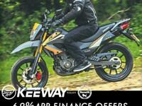 Keeway TX 125c SM Enduro Bike Scrambler Crosser Trails supermoto motorcycle