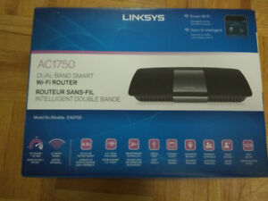 LINKSYS AC1750 DUAL BAND SMART WIFI ROUTER