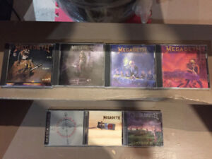 Megadeth CD Collection