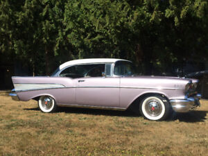 1957 Chevrolet Bel Air Sport Coupe 2dr Hardtop, Dusk Pearl