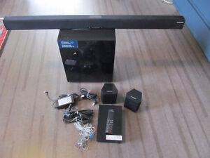 Samsung HW-J370 sound bar system with wireless sub-woofer