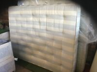 A king size 5' Wide Double Bed Mattress.