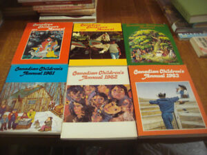 Vintage Books Canadian Children's Annual 1970/80's