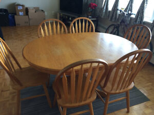 Dining table and chairs Must go!!