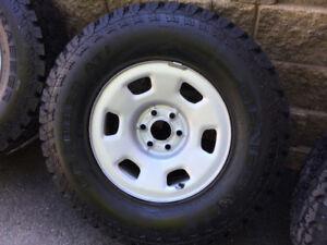 4 pneus P265/70r16 Général AT2 / Homologué OEM Colorado- Canyon