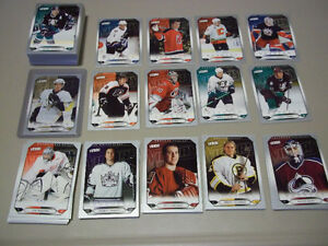 2005-06 UD VICTORY UPDATE SET 100 CARD CROSBY & OVECHKIN ROOKIE