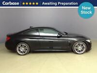 2015 BMW 4 SERIES 420d [190] M Sport 2dr [Professional Media] Coupe
