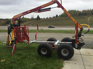 Log loader and Trailers for compact tractors $156.00/M and up St. John's Newfoundland image 6