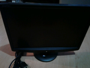 "19"" emachine computer monitor."