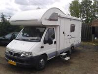 Swift Sundance 600S, Sleeps 4, 4 Seat Belts, 2800cc, Habitation Check Done,