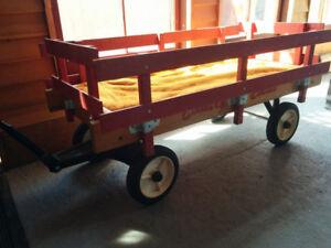 Chariot / Brouette Country Estate en bois pour enfant