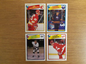 72-plus cards from the 1988-89 O-Pee-Chee hockey set