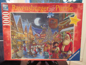 Ravensburger 1000 piece Limited Edition - Santa's arrival NEW