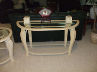 END TABLE AND SOFA TABLE