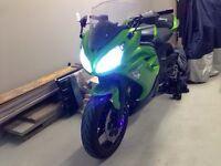 Kawasaki ninja 650r 2012 avec 2900 km