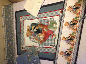 Baby quilts/crib bedding set