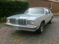 1978 Olds Cutlass 2 door