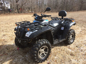 2011 CF MOTO 500 2 PERSON ATV  (PLOW AVAILABLE) FINANCING