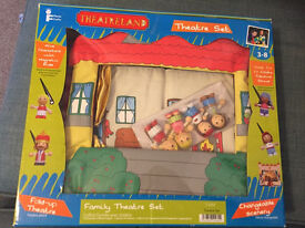 Toy theatre set