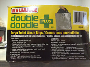 Double Doodie Plus Large Toilet Waste Bags (Reliance Products) West Island Greater Montréal image 2