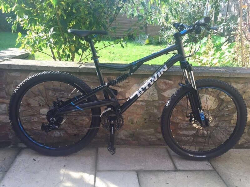 Btwin Rock Rider 500s Mountain Bike Full Suspension Will
