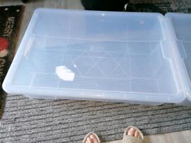 Ikea storage with lid