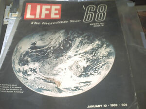 1969 LIFE - THE INCREDIBLE YEAR '68