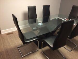 Set table de cuisine