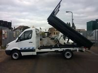 MERCEDES SPRINTER 311 CDI TIPPER ON 59 PLATE VERY GOOD CONDITION IN & OUT, DRIVES VERY WELL