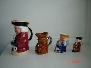 Antique Toby Jugs - $40 for all London Ontario image 4