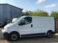LEFT HAND DRIVE 2012 [12] RENAULT TRAFIC 2.0 DCI ECO LINE WHITE VAN AC LHD