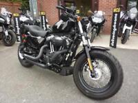 Harley-Davidson Sportster XL1200X Forty Eight 15-15reg 1808miles V&H Stage 1 FSH