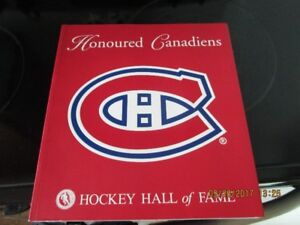 MONTREAL CANADIANS BOOKS