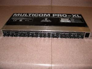 Behringer Multicom Pro 4600 4-channel Compressor For Sale