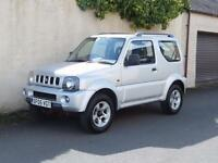 SUZUKI JIMNY 1.3 JLX 2005 05 reg SILVER ONLY ONE LADY OWNER FROM NEW