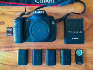 Canon 60D with 2 lenses and many accessories (Great condition)