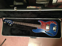Rare bass with case and Eden combo amp