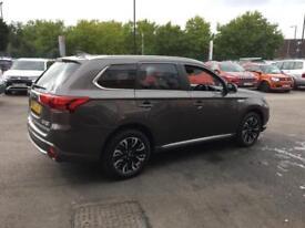 2017 Mitsubishi Outlander PHEV 4H PETROL/ELECTRIC brown CVT