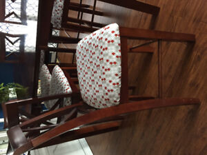 Bar height kitchen table/8 chairs