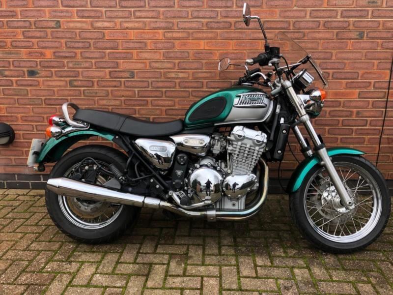 2002 Triumph Thunderbird 900 Too Late On Its Way To Brian