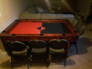10 person game or card table
