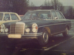 Searching for green Mercedes 280 SE last digits 009181