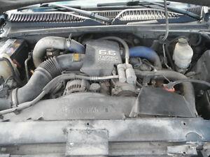 GMC SIERRA 20001-2004 6.6 DURAMAX DIESEL ENGINE