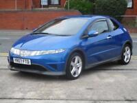 07 Honda Civic 2.2i-CTDi Type S + NEW SHAPE + NEW MOT + S/HISTORY
