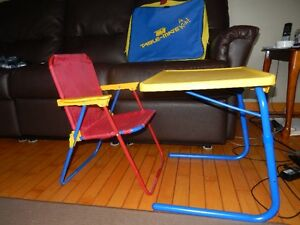 Table & Folding Chair with carry case