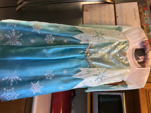 Elsa dress from the Disney Store size 7/8