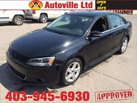2011 VW JETTA AUTOMATIC LOW LOW KM EVERYONE APPROVED $138/BW