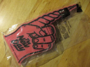 WWF WWE The NEW DAY Unicorn Foam Hand Toy Sealed Wrestling Merch