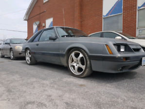Ford Mustang 1986 GT 5.0 Liter 5 speed